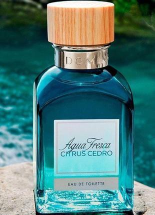 Туалетная вода adolfo dominguez aqua fresca citrus cedro,распив
