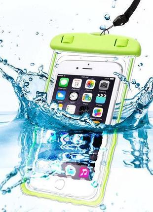 Водонепроницаемый чехол для телефона с флюорисцентным ободком probeauty