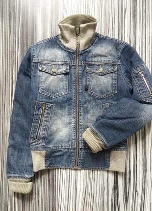 Крутая куртка, джинсовая куртка