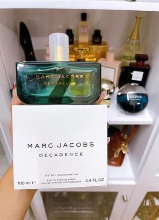 Marc jacobs decadence 100ml тестер