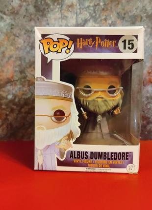 Фигурка funko pop альбус дамблдор №15 harry potter гарри поттер