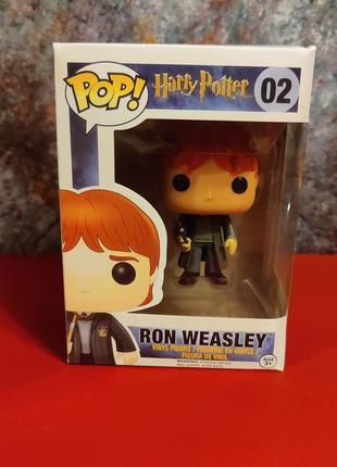 Фигурки funko pop рон уизли ronald weasley №02 harry potter гарри поттер