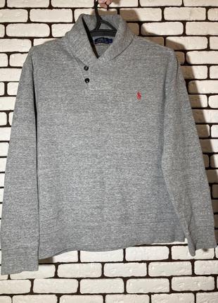 Пуловер , серая кофта ralph lauren