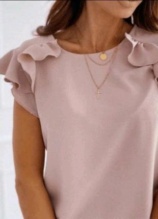Стильна блуза софт 44-46