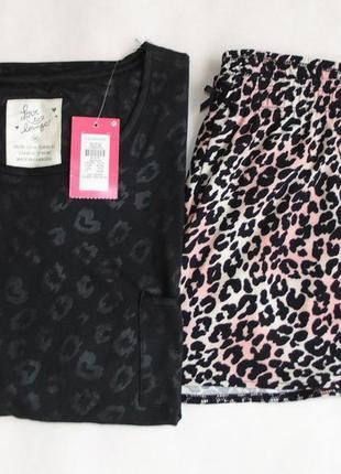 Пижама комбинированная primark love to lounge м 12-14