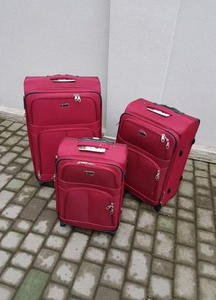 Чемодан,валіза ,текстильный чемодан ,польский бренд ,надёжный ,качественный