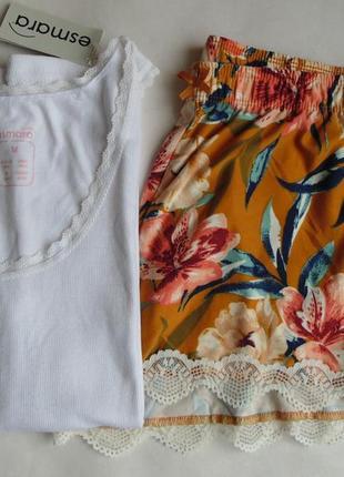 Комбинированная пижама м esmаra-primark