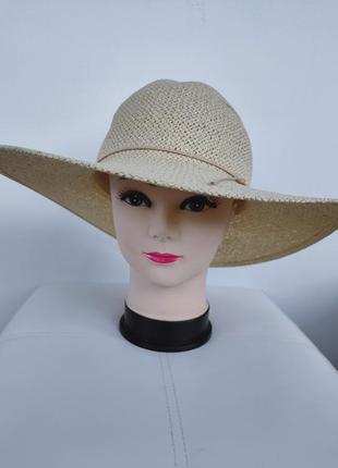 Шляпа,  соломенная широкополая шляпка primark one size