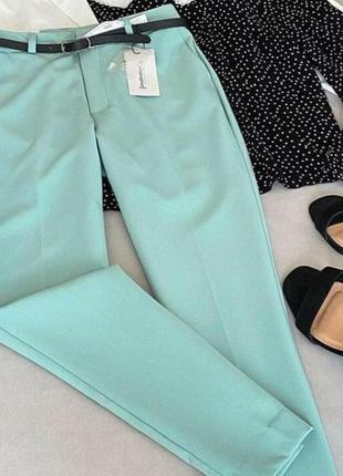 Нові бірюзові брюки ціна 299 грн лише до 20.05