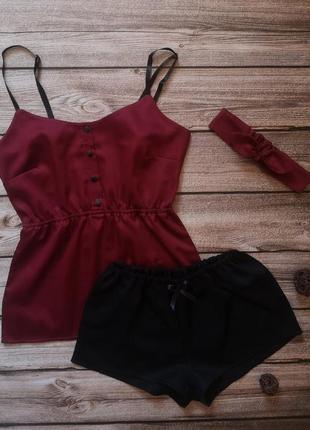 Сатиновая пижамка