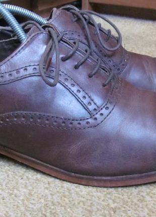 Туфли броги next р.42.5. оригинал1 фото