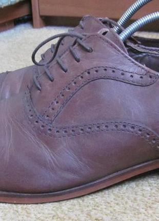 Туфли броги next р.42.5. оригинал2 фото