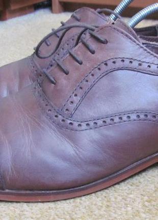 Туфли броги next р.42.5. оригинал5 фото