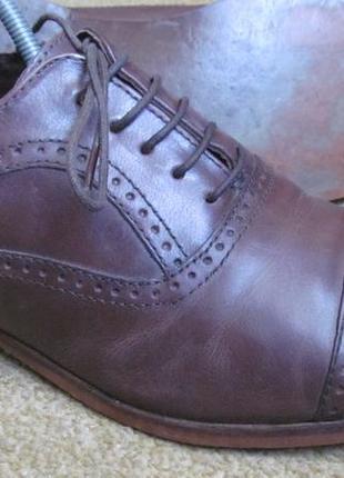 Туфли броги next р.42.5. оригинал8 фото
