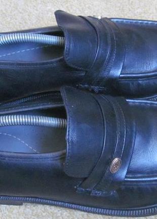 Туфли лоферы clifford james р.42.5.оригинал3 фото