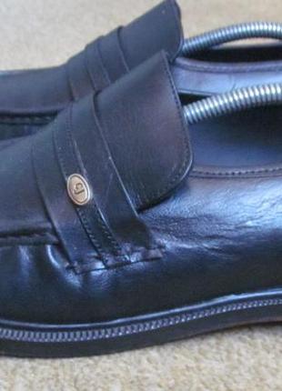 Туфли лоферы clifford james р.42.5.оригинал5 фото
