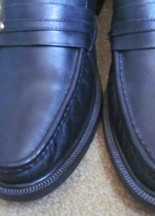 Туфли лоферы clifford james р.42.5.оригинал7 фото