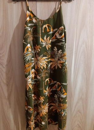 Платье-сарафан миди н&м