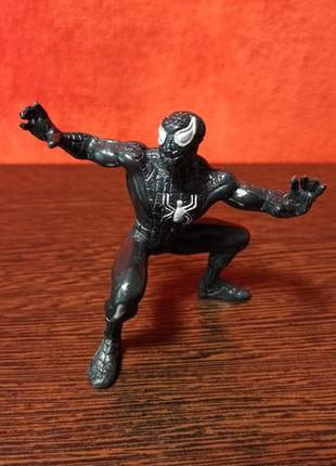 """Винтажная фигурка """"черный человек паук"""" spiderman black marvel yolanda 1996"""