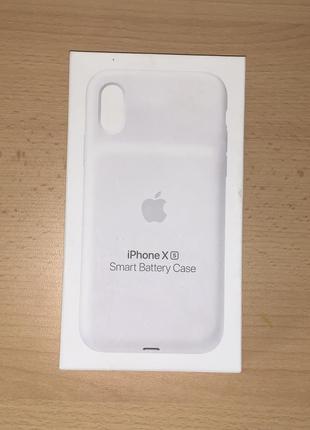 Коробка от чехла smart battery case iphone xs оригинал