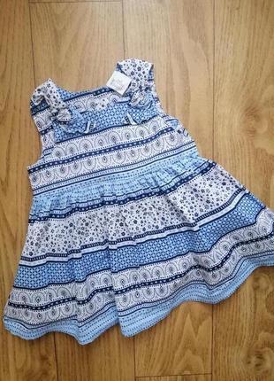 Платье боди бодик h&m на 3-6 мес
