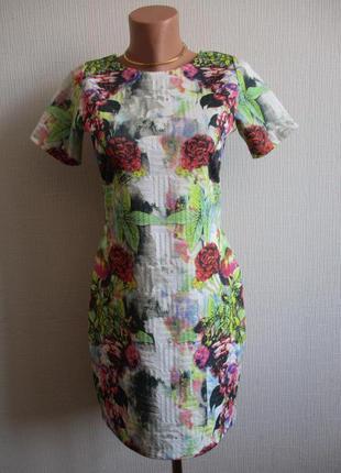 Sale! платье в цветочный принт asos
