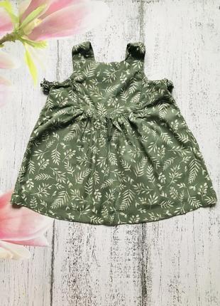 Крутое платье туника tu 6-9мес