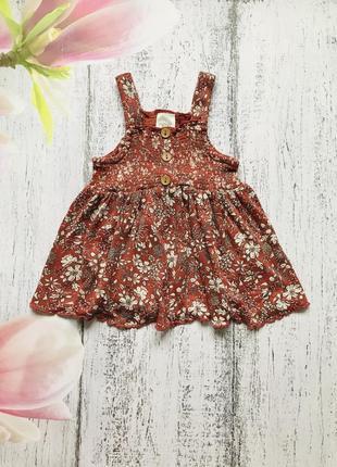Крутая туника платье next 6-9мес
