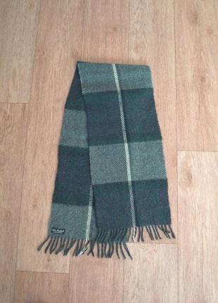 ⛄⛄100% shetland натуральная шерсть теплый мужской шарф с бахромой⛄⛄5 фото