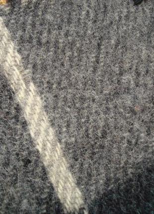 ⛄⛄100% shetland натуральная шерсть теплый мужской шарф с бахромой⛄⛄8 фото