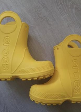 Сапоги crocs c 8