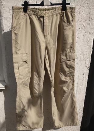 Стильные легкие летние брюки, штаны