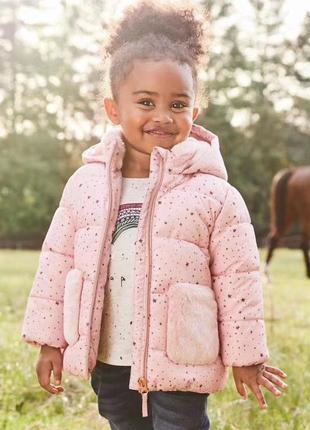 Стильная зимняя куртка для девочки
