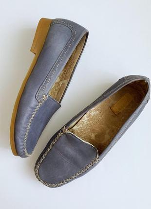 Туфли мокасины на полиуретановой подошве р.36/37 pavers англия