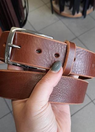Кожаный ремень pierre cardin