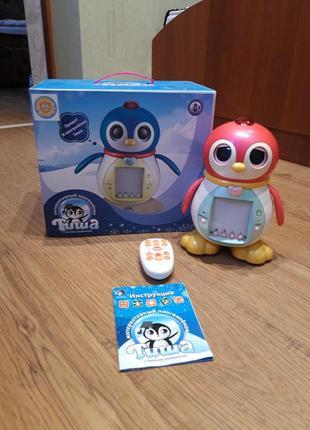 Развивающая музыкальная игрушка,интерактивный пингвин тиша