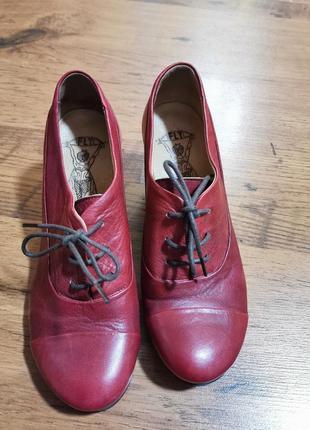 Fly portugal туфли шкіряні