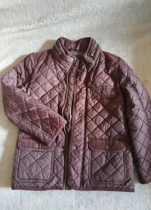 Отличный  стёганый жакет, пиджак, куртка на мальчика р. 7 tu