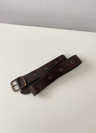 Ремень next leather belt