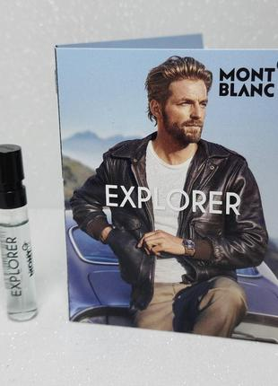 Montblanc explorer (пробник)