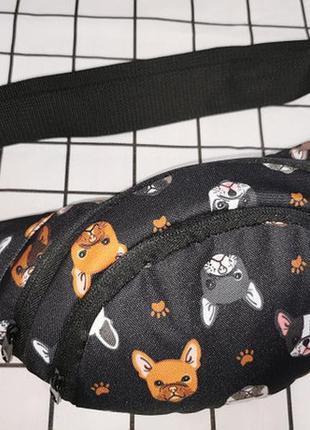 Яркий принт, бананка,сумка на пояс,поясная сумка