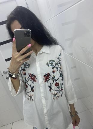 Шикарная рубашка свободного кроя ❤️ m/l