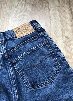 Идеальные винтажные мом джинсы момы mom jeans женские плотные lee cooper