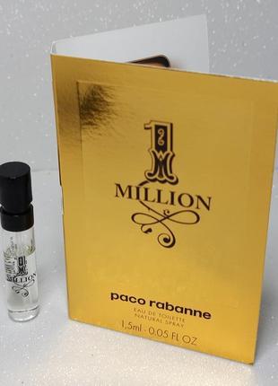 Paco rabanne 1 million туалетная вода (пробник)