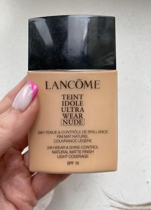Тональный крем lancome teint idole ultra wear nude оттенок 0381 фото