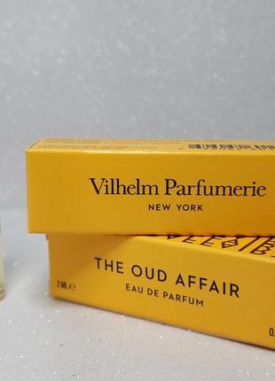 Vilhelm parfumerie the oud affair парфюмированная вода (пробник)