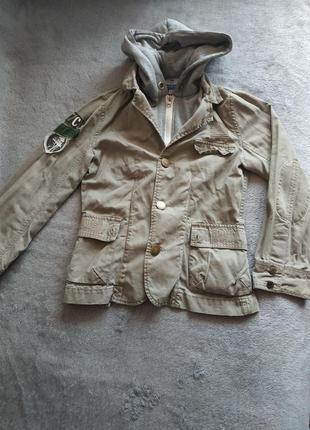 Модный жакет, пиджак, куртка на маленького мужчину р.122 tik&tak charles voegele