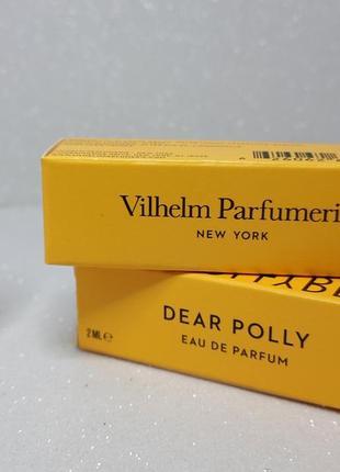 Vilhelm parfumerie dear polly парфюмированная вода (пробник)