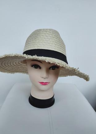 Соломенная шляпа от солнца,  плетеная шляпка primark унисекс one size