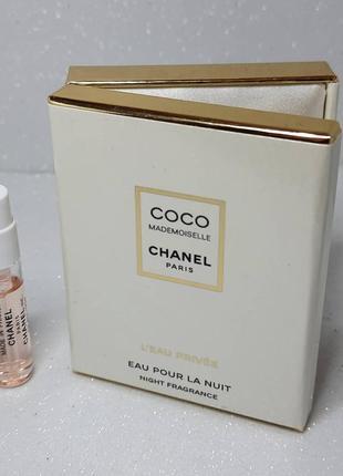 Coco mademoisellel'eau privée в стильний коробке1 фото